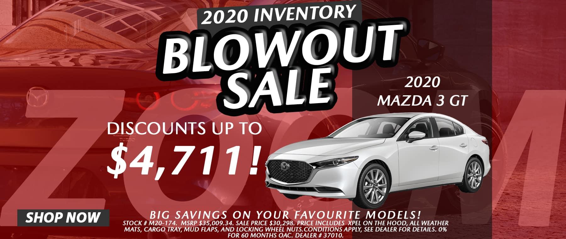 2020 Inventory Blowout Sale – Harris Mazda