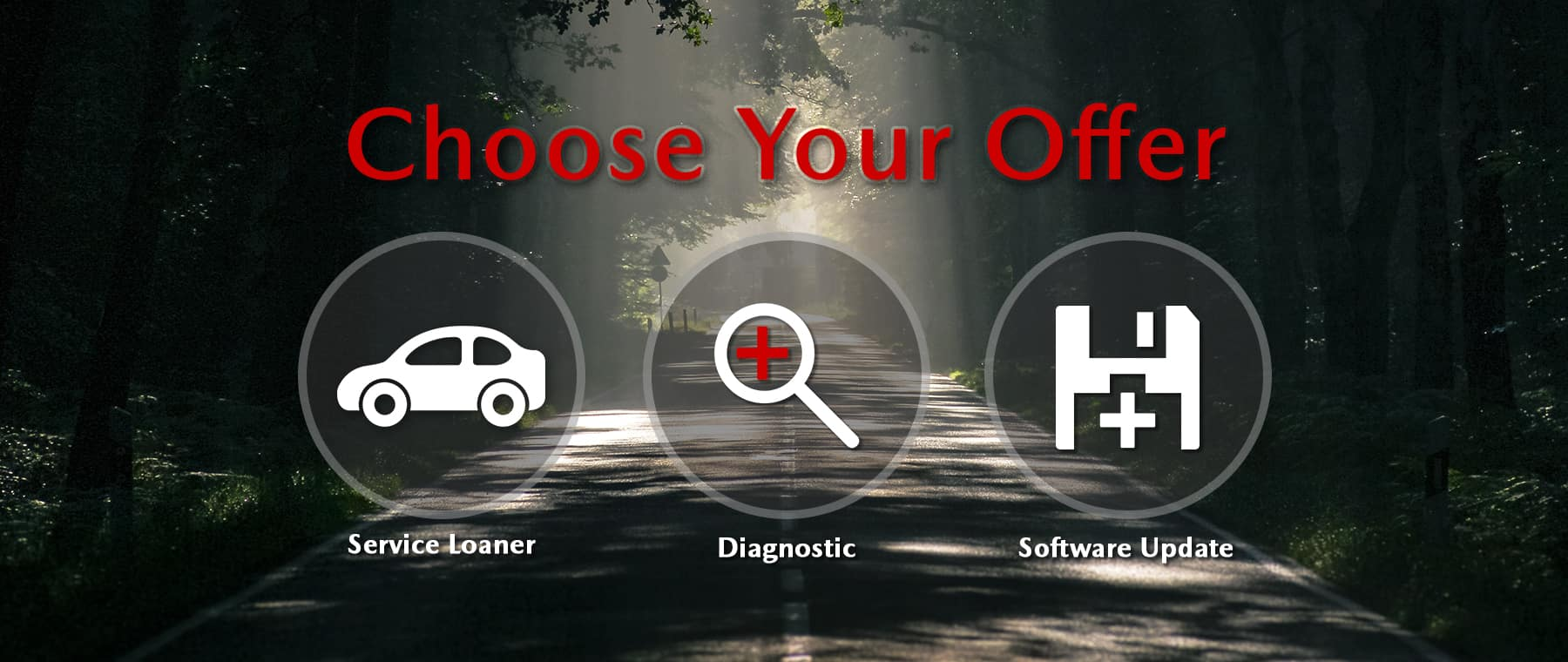 Choose Your Offer Service Campaign – Harris Mazda