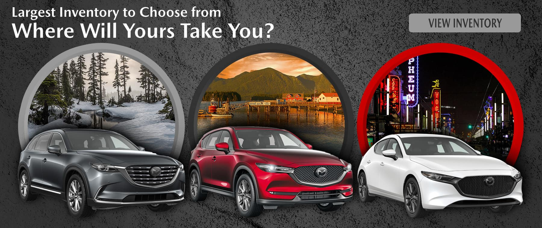 Where will your mazda take you – Harris Mazda