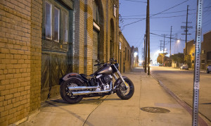 Softail In City