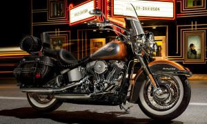 Heritage Softail Classic in City