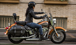 Side View Heritage Softail Classic