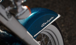 Softail Blue Cover