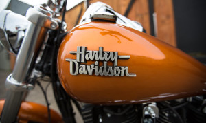 Orange Harley