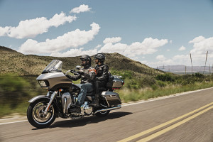 Road Glide and Blue Skies