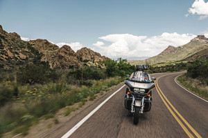 Road Glide in Mountains
