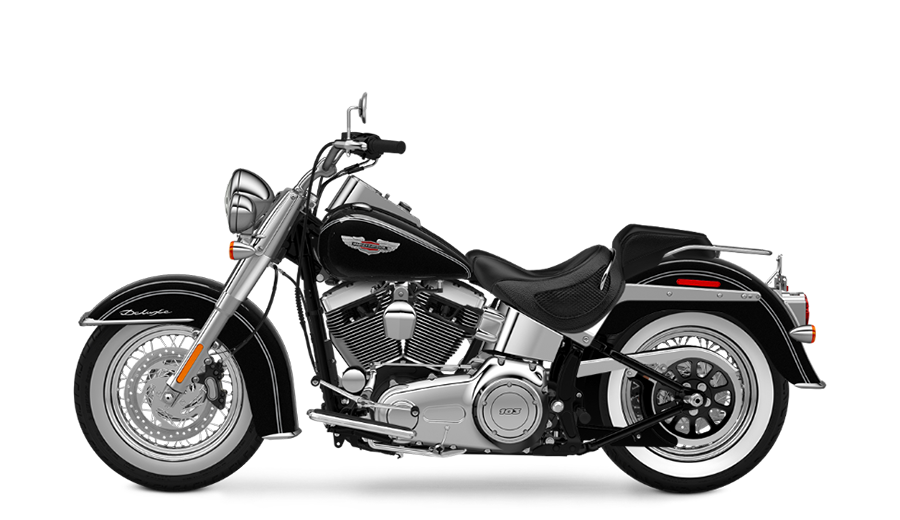 Black Softail Deluxe