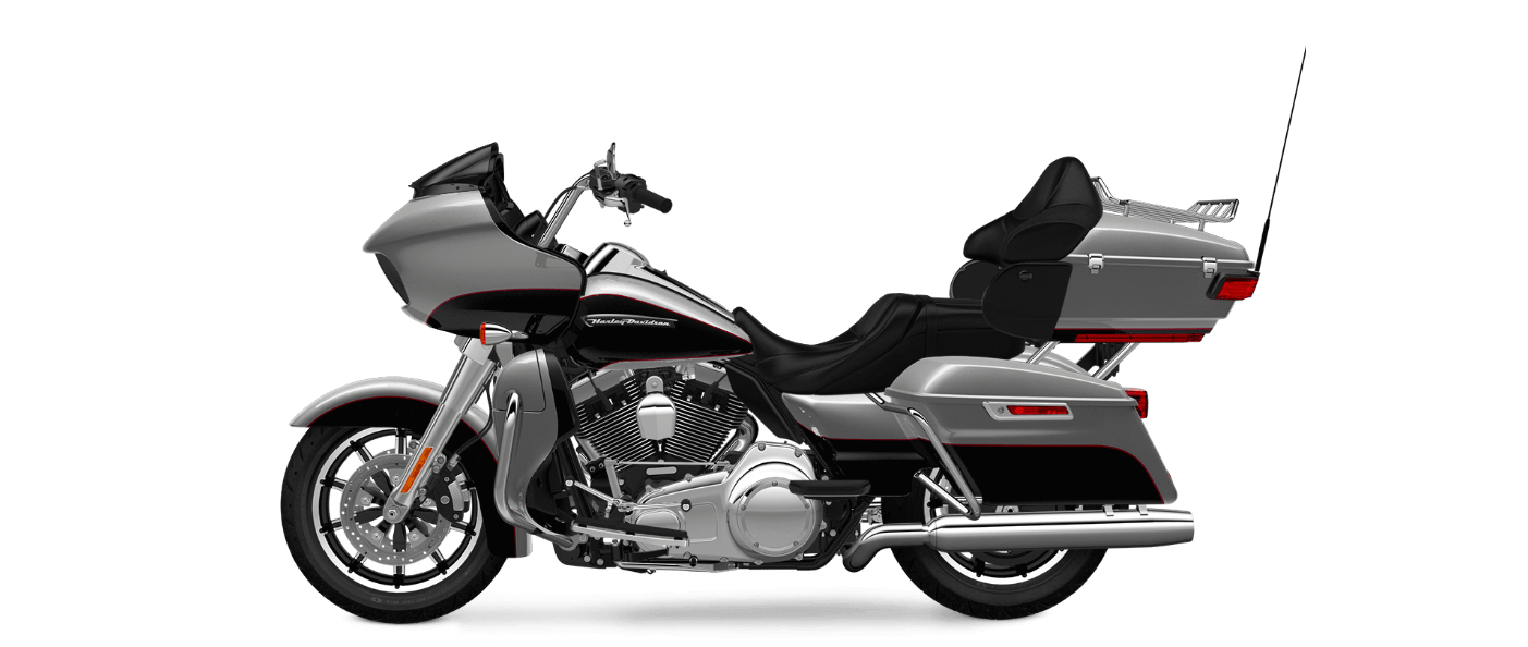 Harley Davidson Road Glide Ultra in Billet Silver