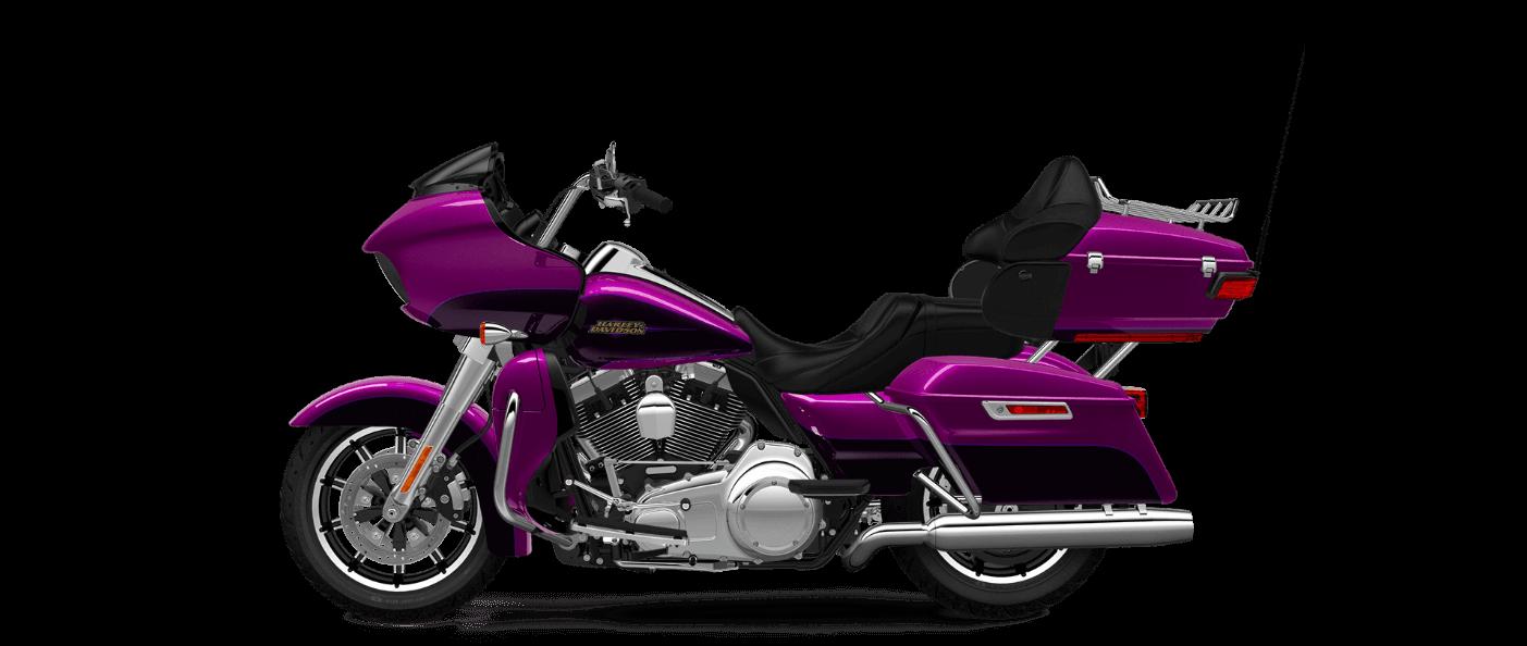 Harley Davidson Road Glide Ultra in Purple Fire