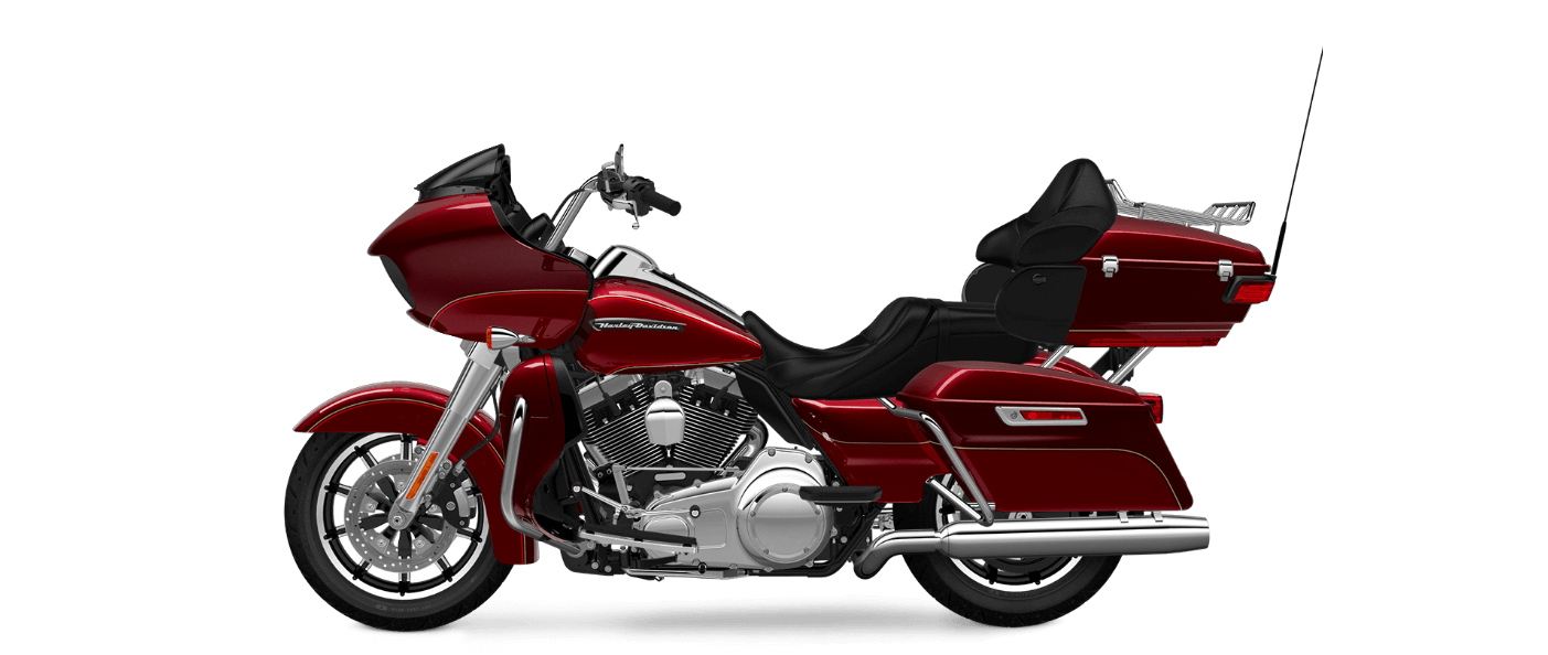Harley Davidson Road Glide Ultra in Red Sunglow