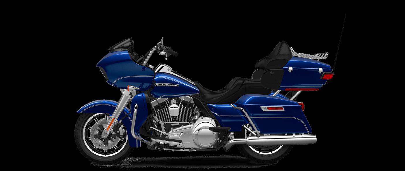 Harley Davidson Road Glide Ultra in Superior Blue