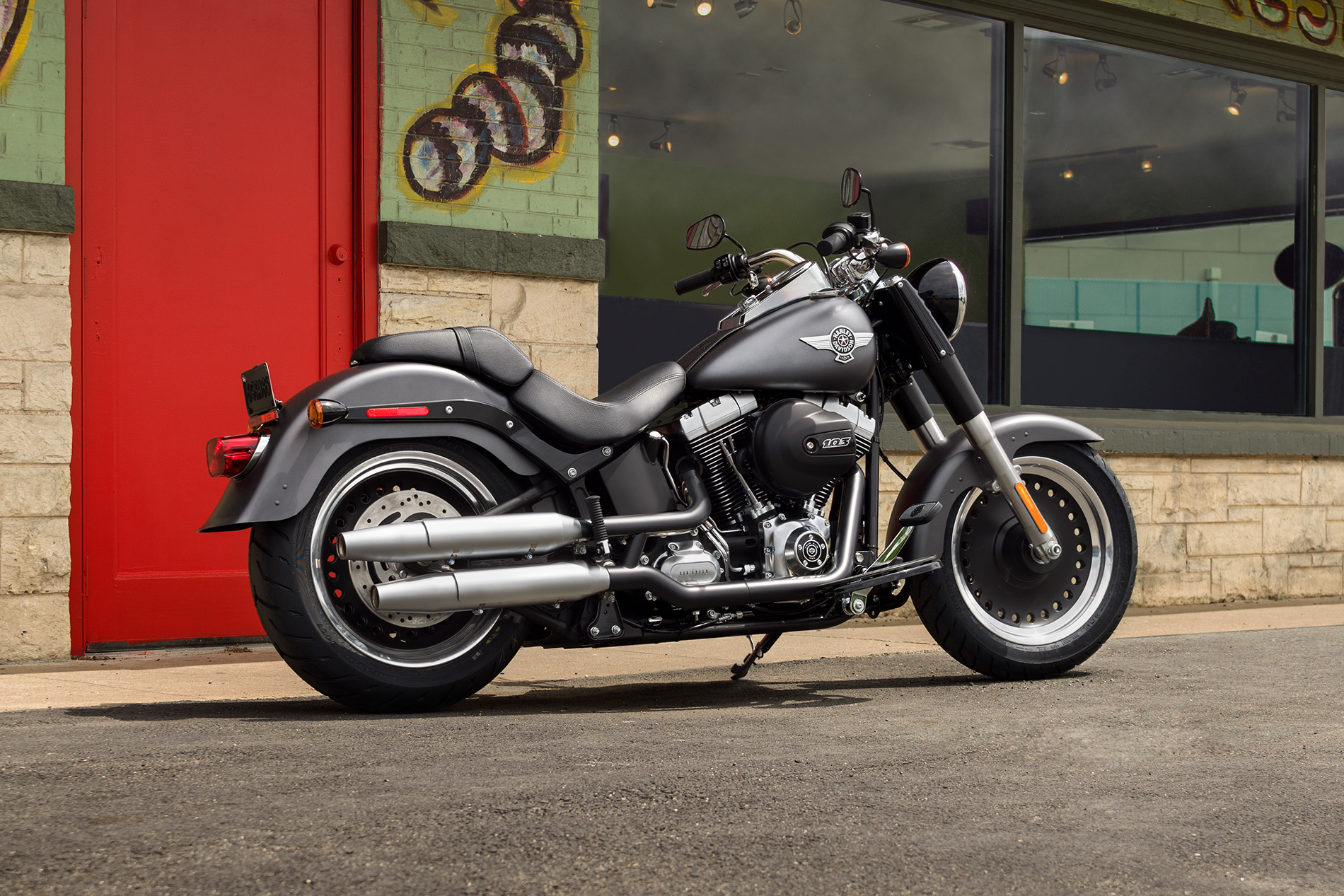 Harley-Davidson® Fat Boy® Lo at High Octane Harley-Davidson®