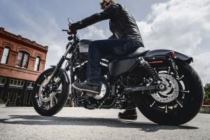 2016 Iron 833 with rider