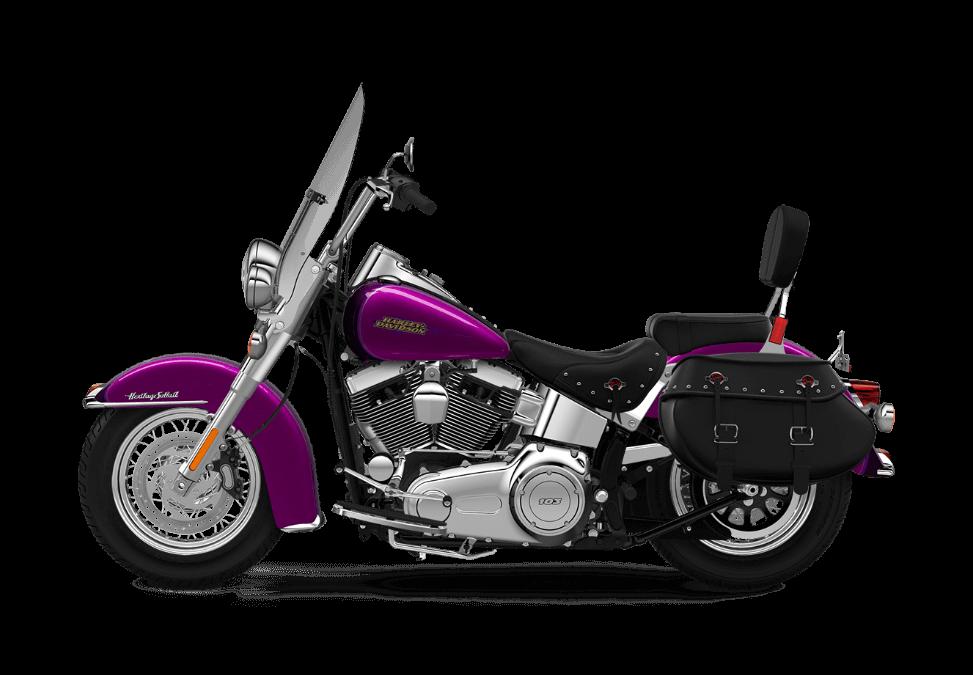 2016 Heritage Softail Classic Purple