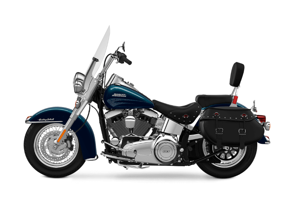 2016 Heritage Softail Classic Teal