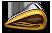 2016 Road Glide HC Gold Flake Tank
