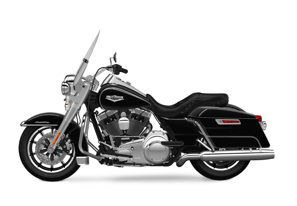 2016 Road King Black Transparent