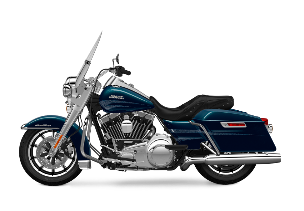 2016 Road King Cosmic Blue TP