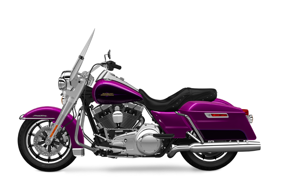 2016 Road King Purple Fire TP