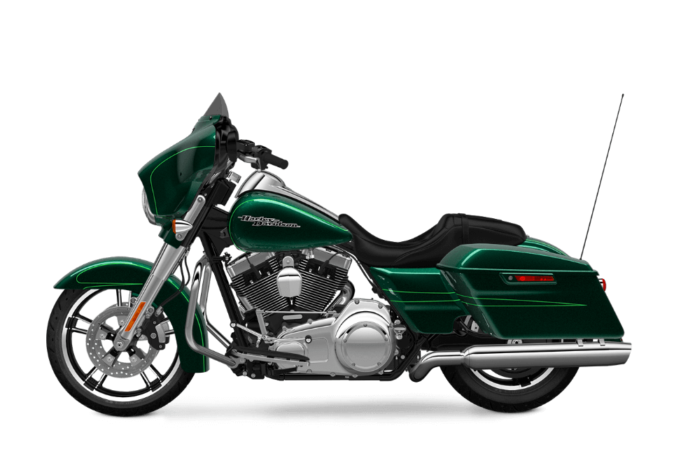 2016 Street Glide Special Green