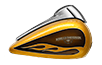 2016 Street Glide Special Tank Gold