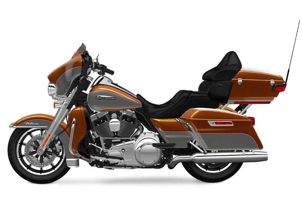 Electra Glide Ultra Classic Amber Whiskey