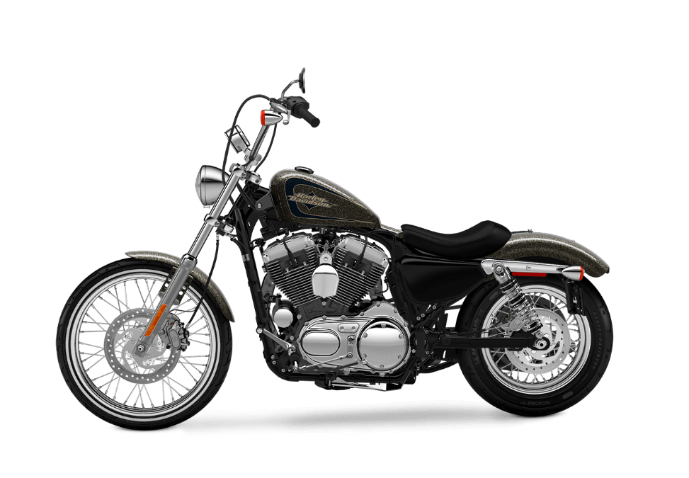 Harley-Davidson Seventy-Two®HC Black Gold Flake