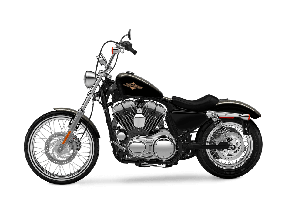 Harley-Davidson Seventy-Two®black quartz