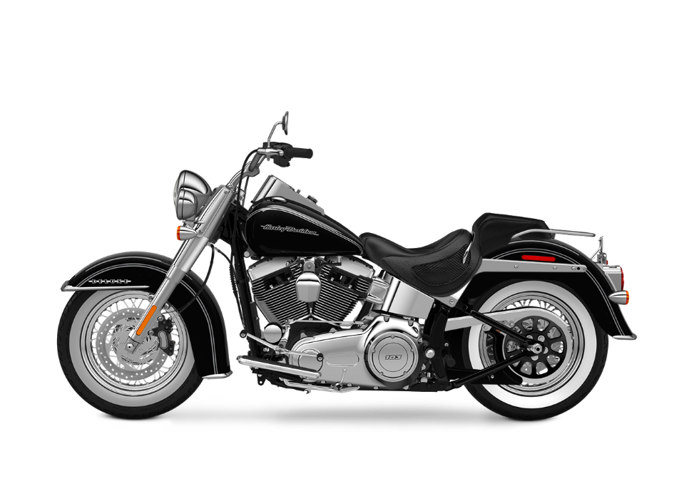 The Harley-Davidson Softail® Deluxe vs  the Heritage Softail
