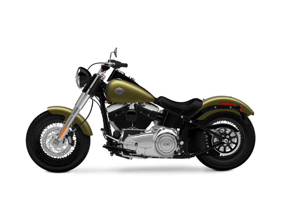 Softail Slim olive gold
