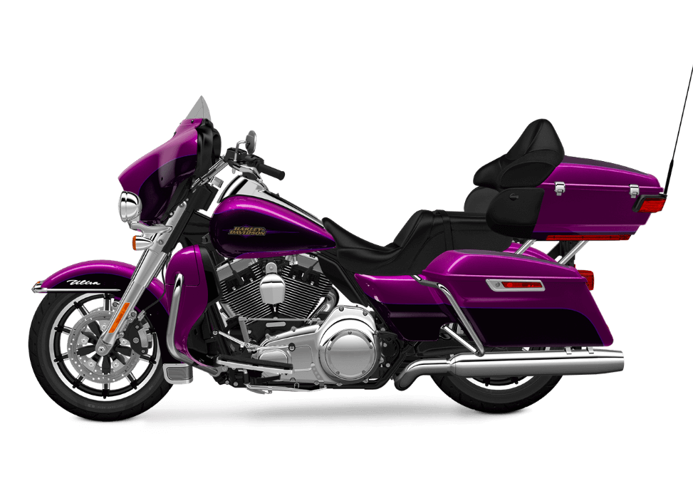 purple Electra Glide Ultra Classic Low