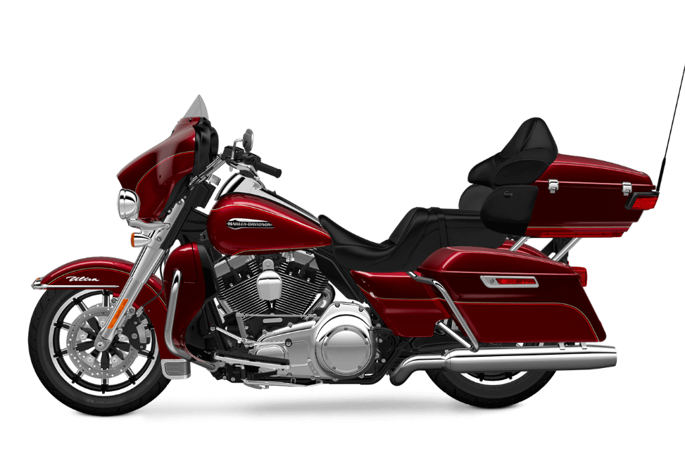 red Electra Glide Ultra Classic Low