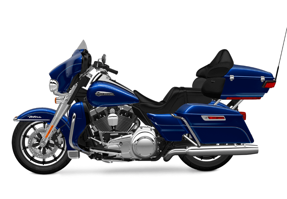 super blue Electra Glide Ultra Classic Low