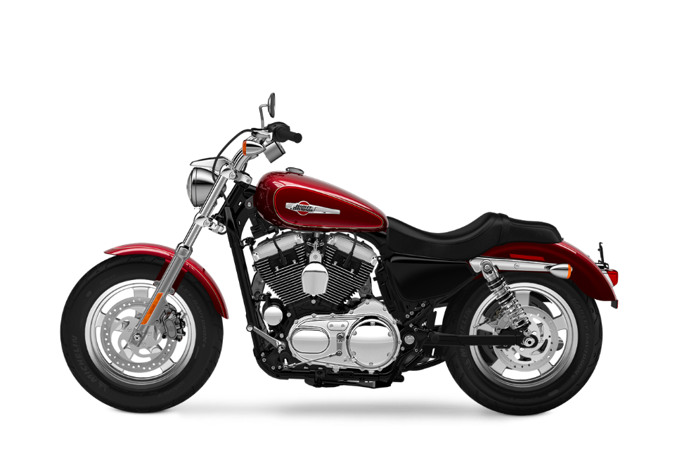 2016-Harley-Davidson-1200-Custom-mysterious-red-sunglo