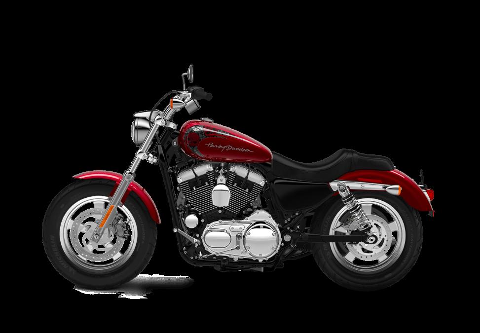 2016-Harley-Davidson-1200-Custom-velocity-red-sunglo-delux