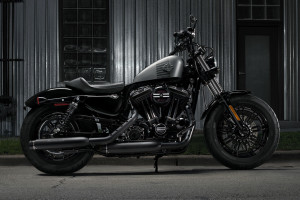 2016 Forty-Eight night garage setting