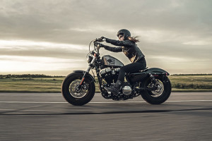 2016 Forty-Eight with rider