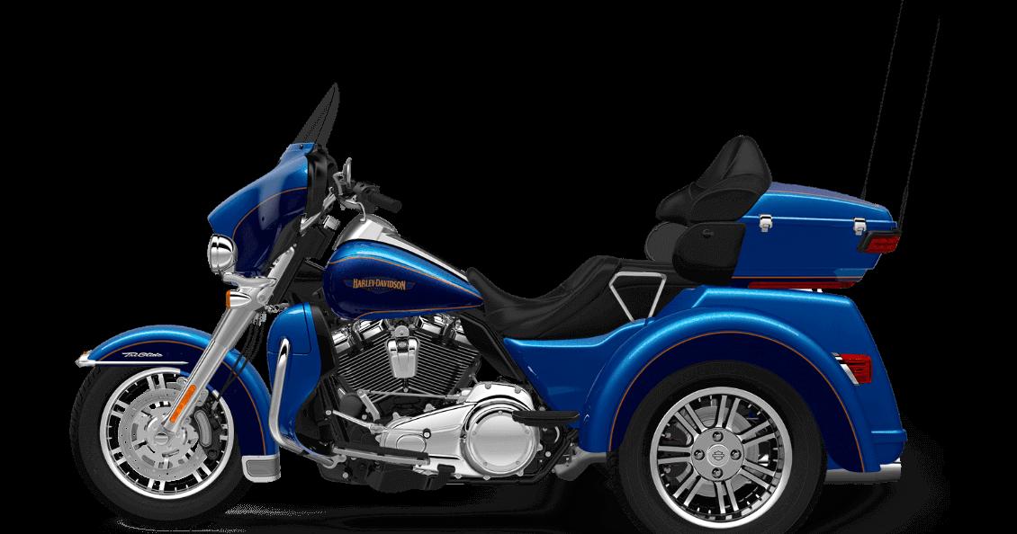 Bonneville Blue 2017 Harley-Davidson Tri Glide Ultra