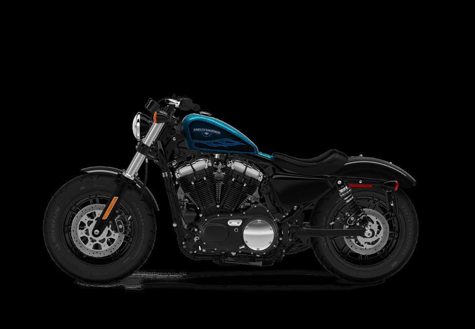 Harley Davidson Forty Eight HC Cancun Blue Flake