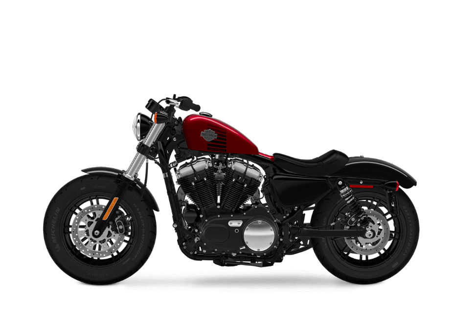 Harley Davidson Forty-Eight Velocity Red Sunglo