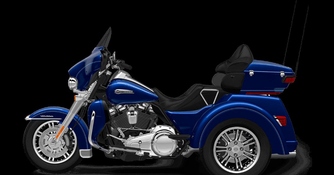 Superior Blue 2017 Harley-Davidson Tri Glide Ultra