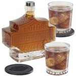 Harley-Davidson Decanter Set