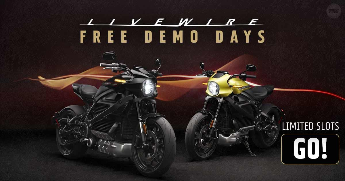 Harley LiveWire Electric Motorcycle Demo Rides in Billerica, Massachusetts