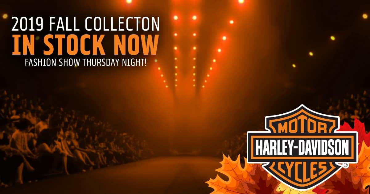 Harley-Davidson Fall 2019 Fashion Show at Bike Night