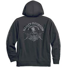 Harley Wounded Warrior Project Hoodie 99057-17VM