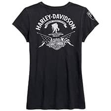 Harley Wounded Warrior Project Ladies T-shirt