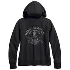 Harley Wounded Warrior Project Ladies' Hoodie 99102-17VW