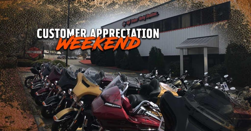Customer Appreciation Weekend