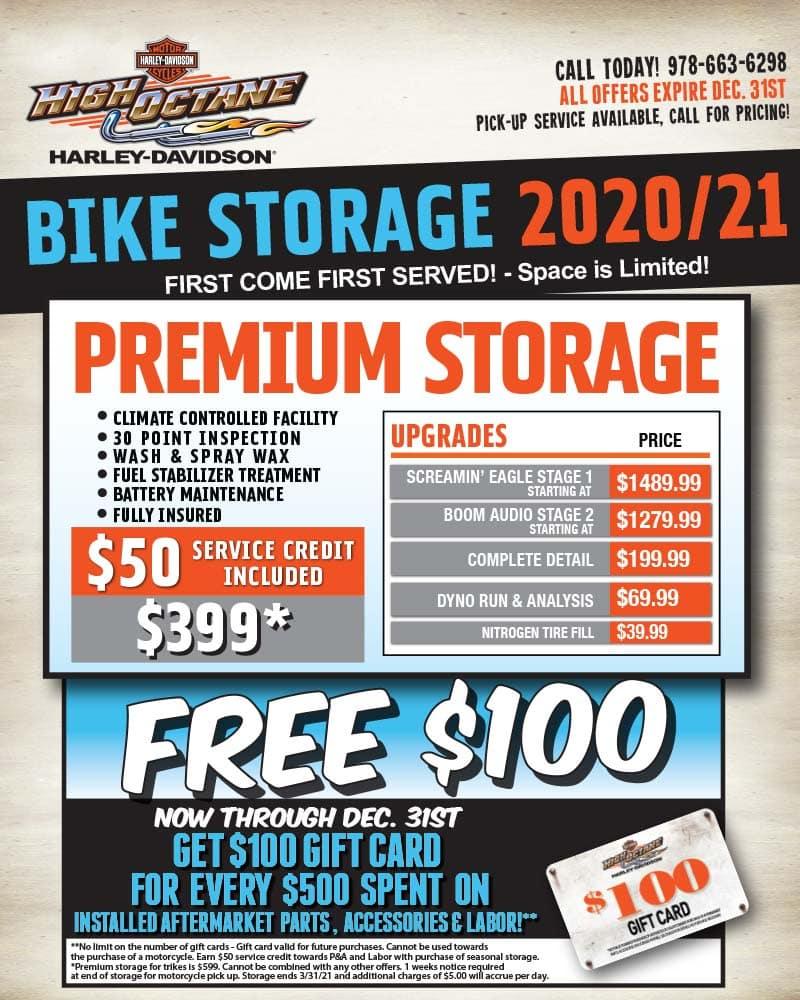 2020/2021 Winter Storage