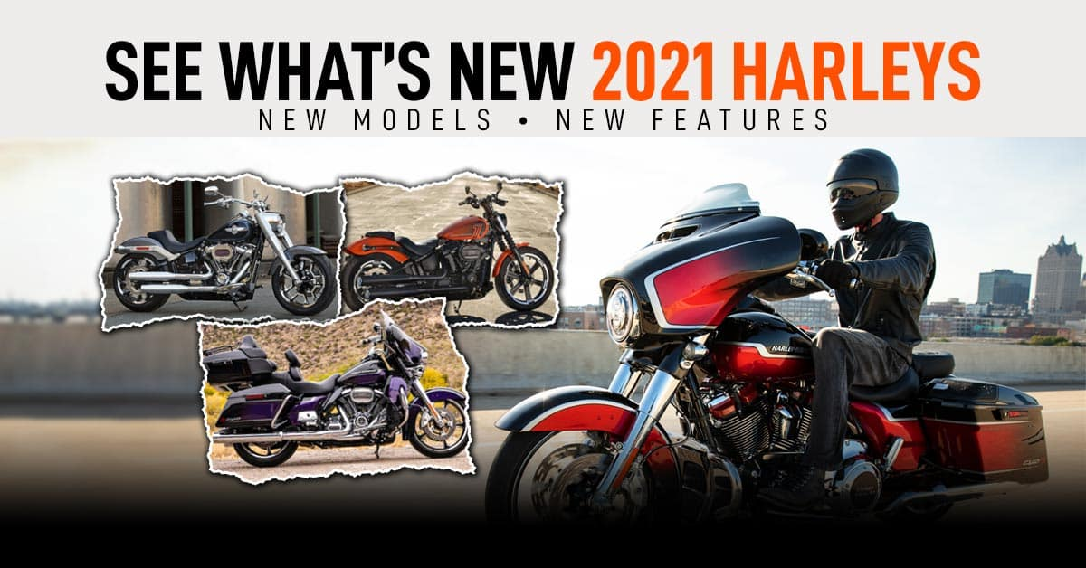 New 2021 Harley models